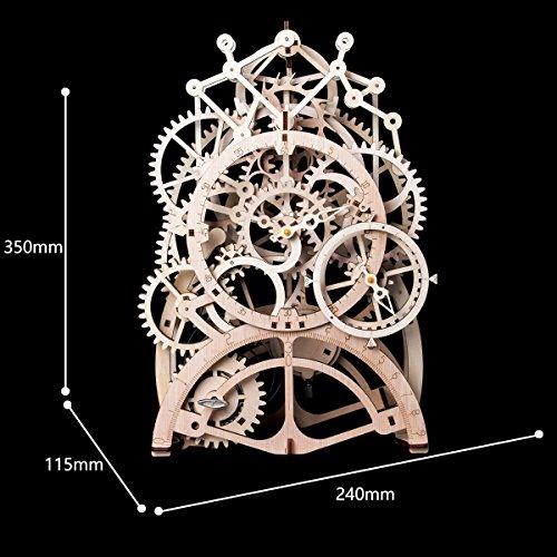 ROBOTIME 3D Laser-Cut Wooden Puzzle DIY Mechanical