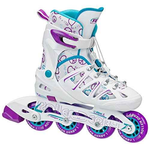 Roller-Derby-Girls-Stinger-52-Adjustable-Inline-Skate-0