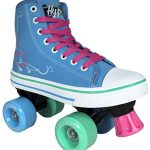 Roller-Skates-for-Girls-HYPE-Pixie-Kids-Quad-Roller-Skates-with-High-Top-Shoe-Style-for-Indoor-Outdoor-Skating-Durable-Easy-to-Skate-Made-for-Kids-Blue-Pink-0-1