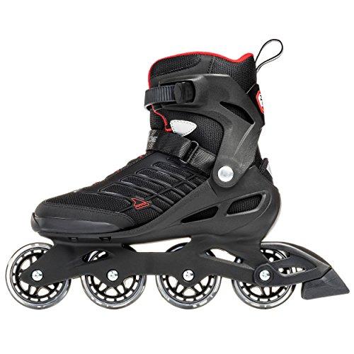 Rollerblade-Zetrablade-Mens-Adult-Fitness-Inline-Skate-Black-and-Red-Performance-Inline-Skates-0-2