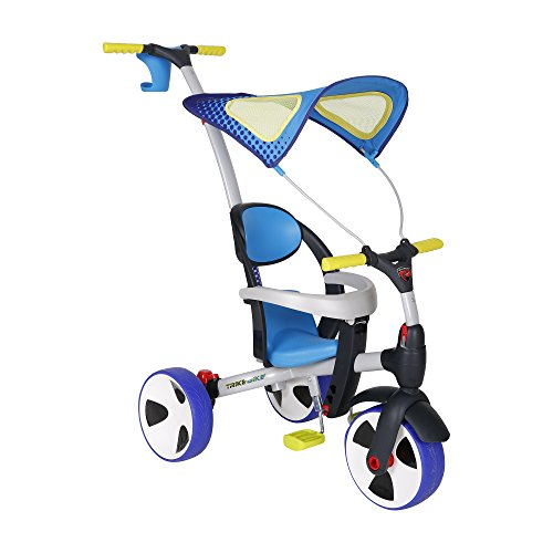 Rollplay-4-in-1-Convertible-Trike-Bike-0-1