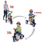 Rollplay-4-in-1-Convertible-Trike-Bike-0-2
