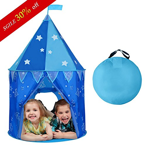 SGILE Indoor Outdoor Play Tent or Tunnel for Kid christmas gift children girl boy  sc 1 st  Hobby Leisure Mall & SGILE Indoor Outdoor Play Tent or Tunnel for Kid christmas gift ...