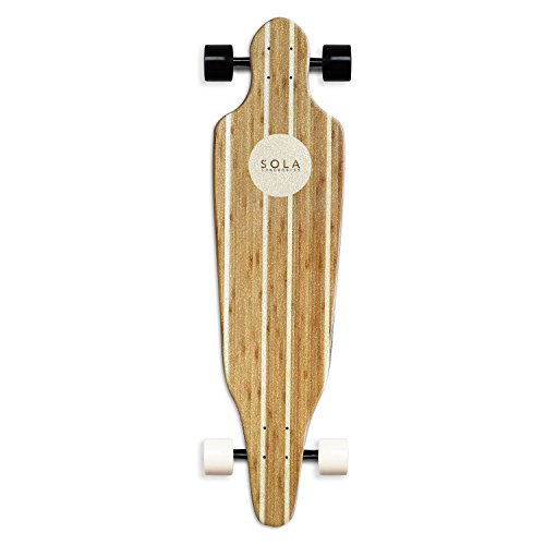 SOLA-Bamboo-Premium-graphic-design-Complete-longboard-Skateboard-36-to-38-inch-0-1