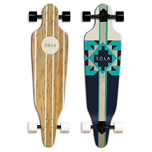 SOLA-Bamboo-Premium-graphic-design-Complete-longboard-Skateboard-36-to-38-inch-0