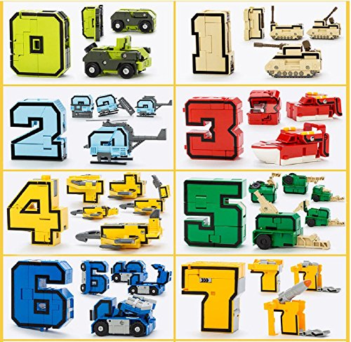 SSJ-Kids-Children-Educational-Toys-Magic-Number-Combined-Robot-Transformers-Robots-15-pieces-Set-0-1