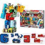 SSJ-Kids-Children-Educational-Toys-Magic-Number-Combined-Robot-Transformers-Robots-15-pieces-Set-0
