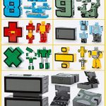 SSJ-Kids-Children-Educational-Toys-Magic-Number-Combined-Robot-Transformers-Robots-15-pieces-Set-0-2