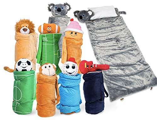 Super Fun Unique Sleeping Bag Overnight Travel Kit For Kids