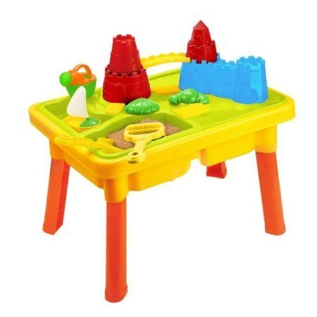 Sandbox-Castle-2-in-1-Sand-and-Water-Table-with-Beach-Play-Set-for-Kids-0