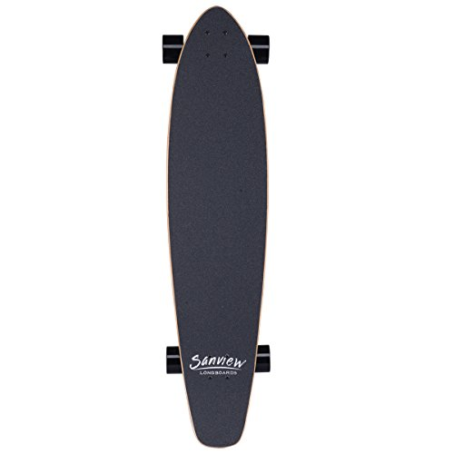Sanview-Bamboo-Drop-Through-Longboard-Skateboard-Cruiser-0-0