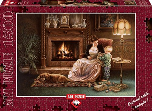 Serenity By The Fireplace By Dona Gelsinger 1500 Piece