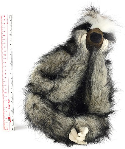 Shlomo The Three Toed Sloth 18 Inch Super Realistic Large Stuffed