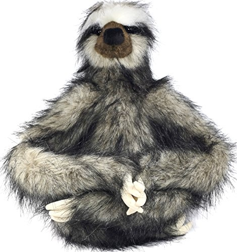Shlomo The Three Toed Sloth 18 Inch Super Realistic Large Stuffed