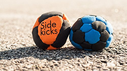 Sidekicks-Hacky-Sack-Classic-Sand-Filled-Footbag-Best-for-Dirtbag-Practice-Juggling-Practice-Hand-Stitched-Synthetic-Suede-Sand-Hacky-Sack-Dirt-Bag-0-2