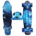 Skateboards-Complete-22-Inch-Mini-Cruiser-Retro-Skateboard-for-Kids-Boys-Youths-Beginners-0-0