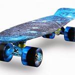 Skateboards-Complete-22-Inch-Mini-Cruiser-Retro-Skateboard-for-Kids-Boys-Youths-Beginners-0
