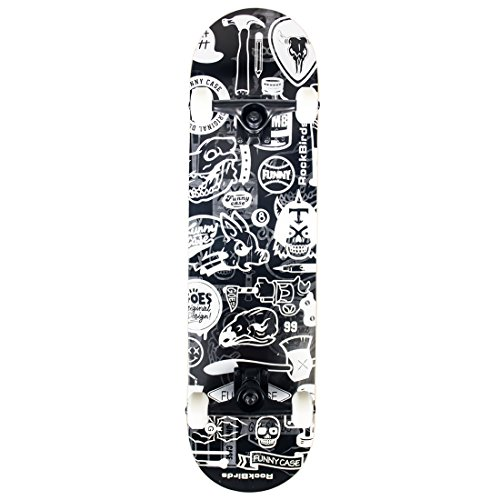 Skateboards-RockBirds-31-Pro-Complete-Skateboard-7-Layer-Canadian-Maple-Skateboard-Deck-for-Extreme-Sports-and-Outdoors-0-1