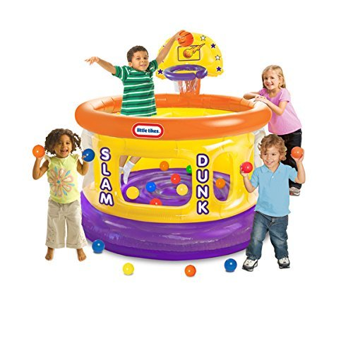 Slam-Dunk-Big-Ball-Pit-with-20-Soft-Balls-Multi-Colored-by-Product-Little-Tikes-0