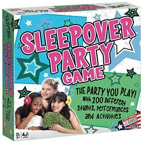 sleepover game and teen