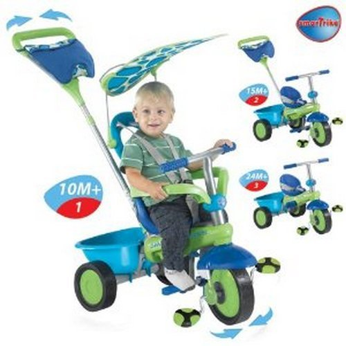 Smart-Fresh-3-in-1-Tricycle-Color-BlueGreen-0