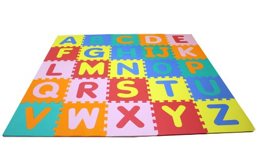 Soft Foam Alphabet Baby Puzzle Play Mat 26 Letter Set