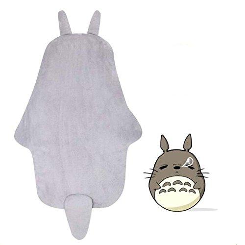 Sport-do-Infant-Cartoon-Grey-Totoro-Super-Soft-Flannel-Sleeping-Bag-Winter-Autumn-New-born-Anti-kicking-Warm-Hugging-Quilt-Baby-Pure-Cotton-Thicken-Blanket-0-0