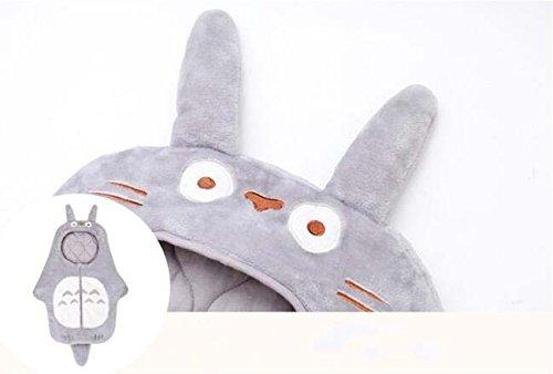 Sport-do-Infant-Cartoon-Grey-Totoro-Super-Soft-Flannel-Sleeping-Bag-Winter-Autumn-New-born-Anti-kicking-Warm-Hugging-Quilt-Baby-Pure-Cotton-Thicken-Blanket-0-1