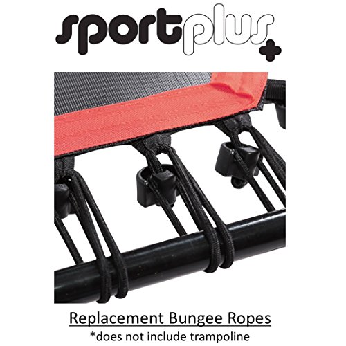 Sportplus Silent Fitness Mini Trampoline With Handle Bar