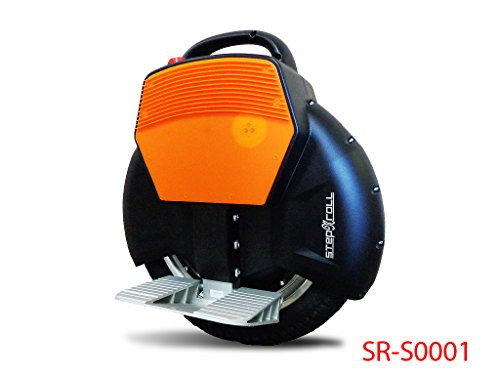 Step-N-Roll-One-Wheel-Self-Balancing-Electric-Unicycle-Uni-Wheel-Scooter-with-Training-wheel-Black-0-0