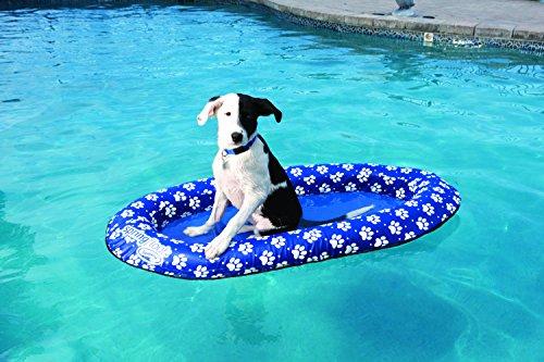 SwimWays Spring Float Paddle Paws Dog Pool Float | Hobby Leisure Mall