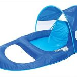 SwimWays-Spring-Float-Recliner-Pool-Lounge-Chair-w-Sun-Canopy-0-0