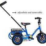Tauki-10-Inch-Kids-Tricycle-with-Adjustable-Push-Bar-Kids-Trike-0-0