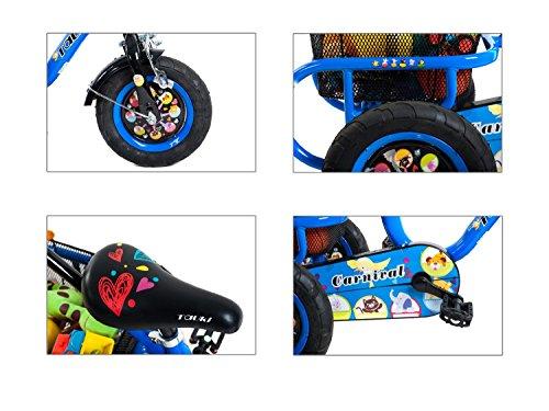 Tauki-10-Inch-Kids-Tricycle-with-Adjustable-Push-Bar-Kids-Trike-0-1