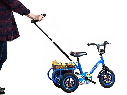 Tauki-10-Inch-Kids-Tricycle-with-Adjustable-Push-Bar-Kids-Trike-0-2