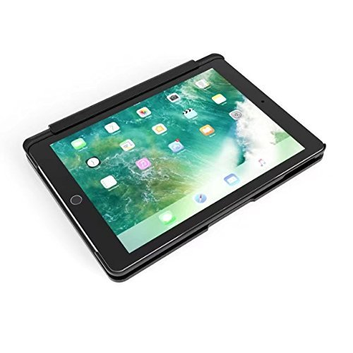 TechCode-7-Color-Backlit-Detachable-Smart-Keyboard-Case-Slim-Fit-Folio-Back-Cover-with-Wireless-Bluetooth-Keyboard-for-iPad-0-1