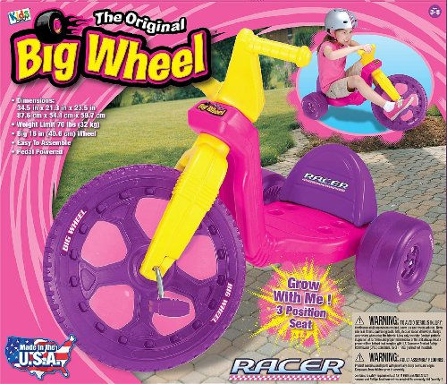 The-Original-Big-Wheel-16-Big-Wheel-Racer-Pink-0-1