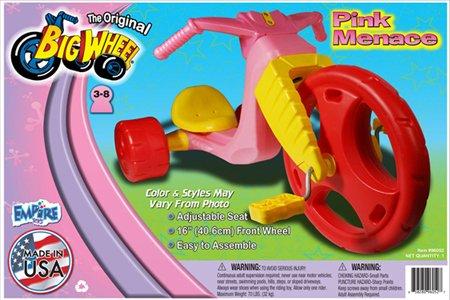 The-Original-Big-Wheel-PINK-MENACE-16-Trike-Limited-Edition-0