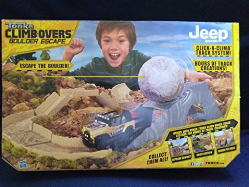 Tonka-Climbovers-Boulder-Escape-Jeep-Motorized-4×4-Action-Click-N-Climb-Track-System-New-In-Unopened-Box-0-0