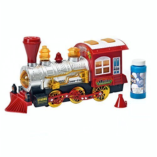 Toy-Steam-Train-Locomotive-Car-w-Lights-Sounds-Steam-Bubbles-Battery-Powered-Bump-N-Go-Motion-by-Brunfen-Toys-0