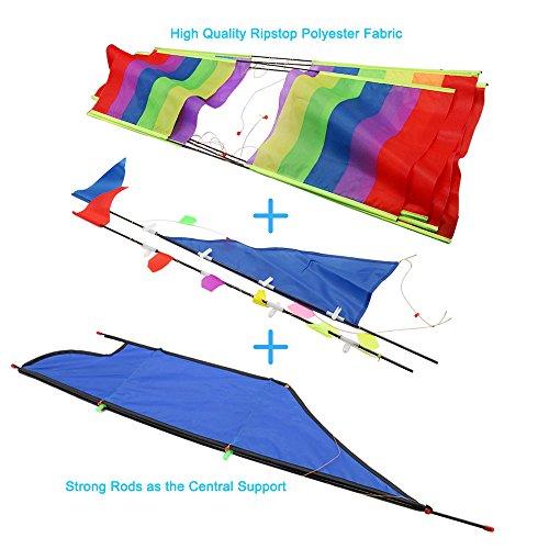 Tresbro Sailing Ship Kite Flying For Beach 3d Cool Big
