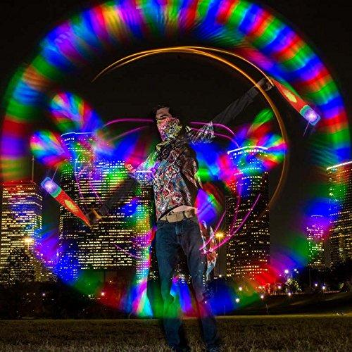 Led Lights For Cars >> UltraPoi – Vortex Poi – LED Poi Set – Best Light Up Glow Poi – Flow Rave Dance – Spinning Light ...