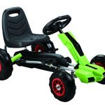 Vroom-Rider-Power-Pedal-Go-Kart-Ride-Ons-with-Pneumatic-Tire-Green-0