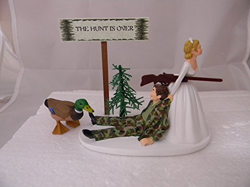 Wedding Reception Party Hunt Over Sign Duck Fowl Hunter