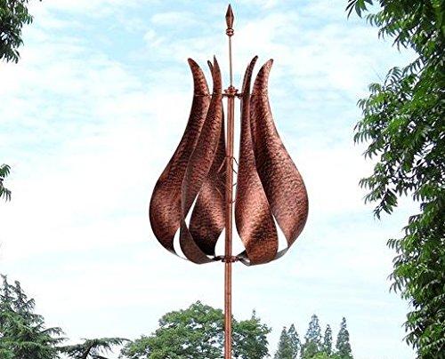 Whirligigs-Garden-Wind-Spinner-Spiral-Yard-Ornament-Outdoor-Metal-Ground-Stake-Wind-Catcher-Pinwheel-Tulip-0-1