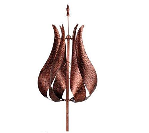 Whirligigs-Garden-Wind-Spinner-Spiral-Yard-Ornament-Outdoor-Metal-Ground-Stake-Wind-Catcher-Pinwheel-Tulip-0