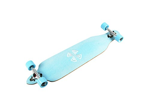 WiiSHAM-42-Inches-Professional-Speed-Downhill-Drop-Through-Complete-Longboard-Skateboard-With-Free-T-tools-0-2