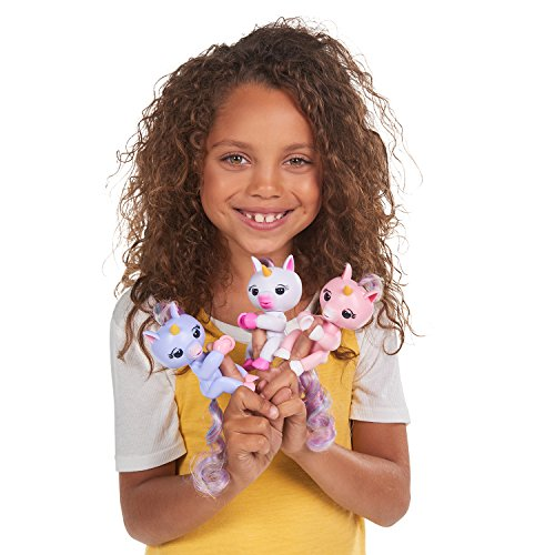 Wowwee Fingerlings Interactive Baby Unicorn Puppet Alika
