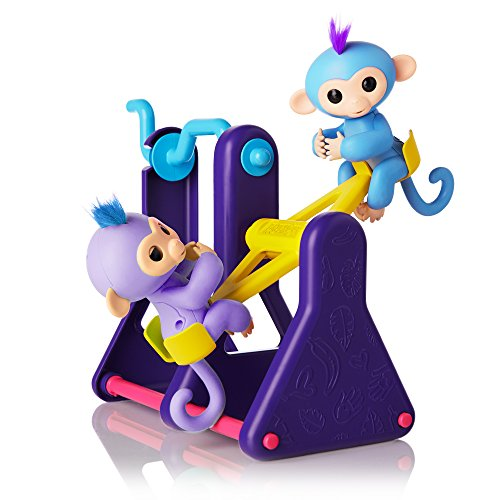 Wowwee Fingerlings Seesaw Playset Plus 2 Monkeys Willy