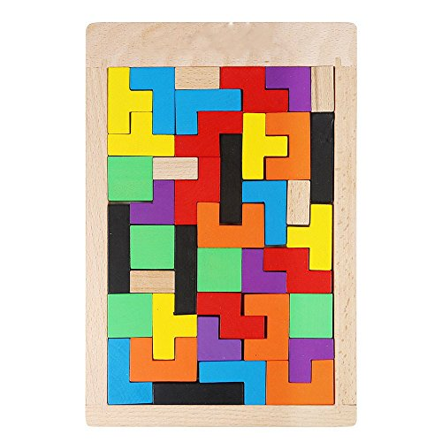 YBB-Wooden-Tetris-Puzzle-Wood-Jigsaw-ToyEducational-Game-40-Pieces-0-1